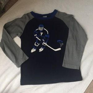 Sz 6 hockey shirt Gymboree